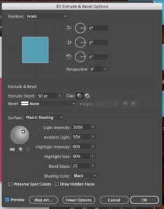 How to Create 3D Block Letters in Illustrator - Kelcie Makes