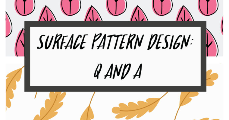 Surface Pattern Design: Q and A