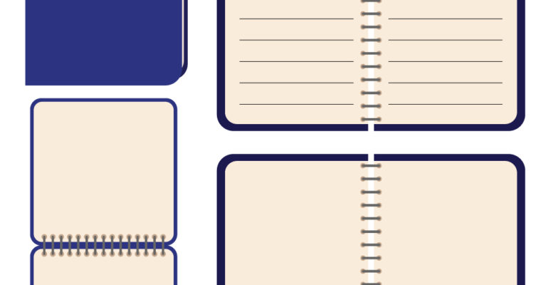 Free Vector Graphics: Notebooks