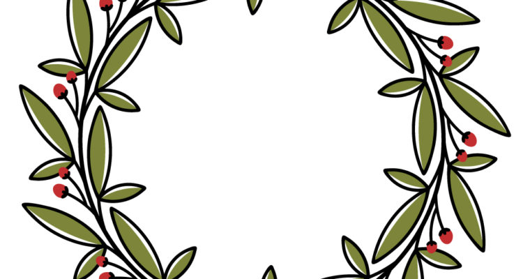 Free Vector Graphics: 2 Wreaths