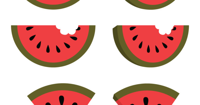 Free Vector Graphics: Watermelons